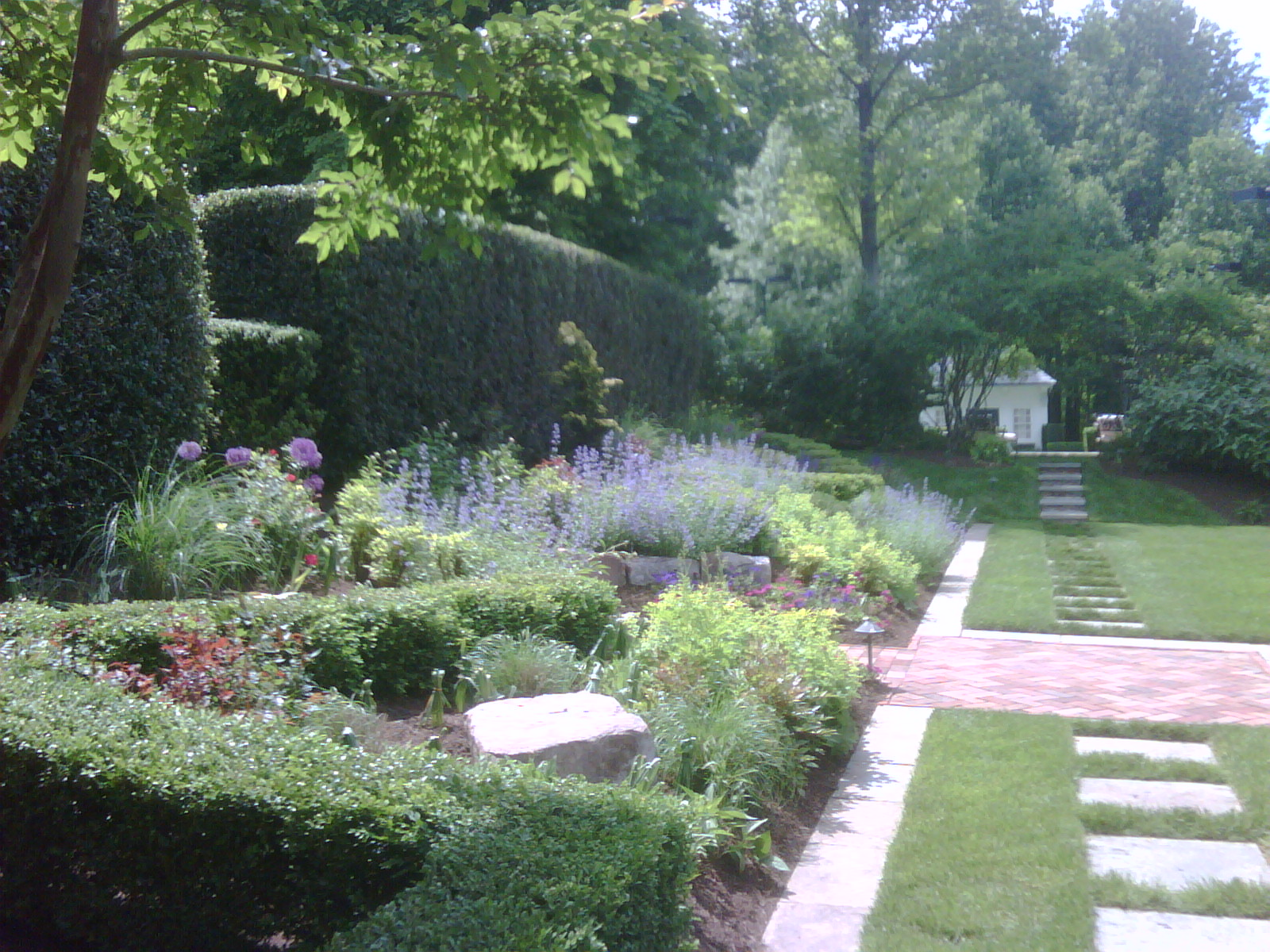 Garden Project in Potomac, Maryland