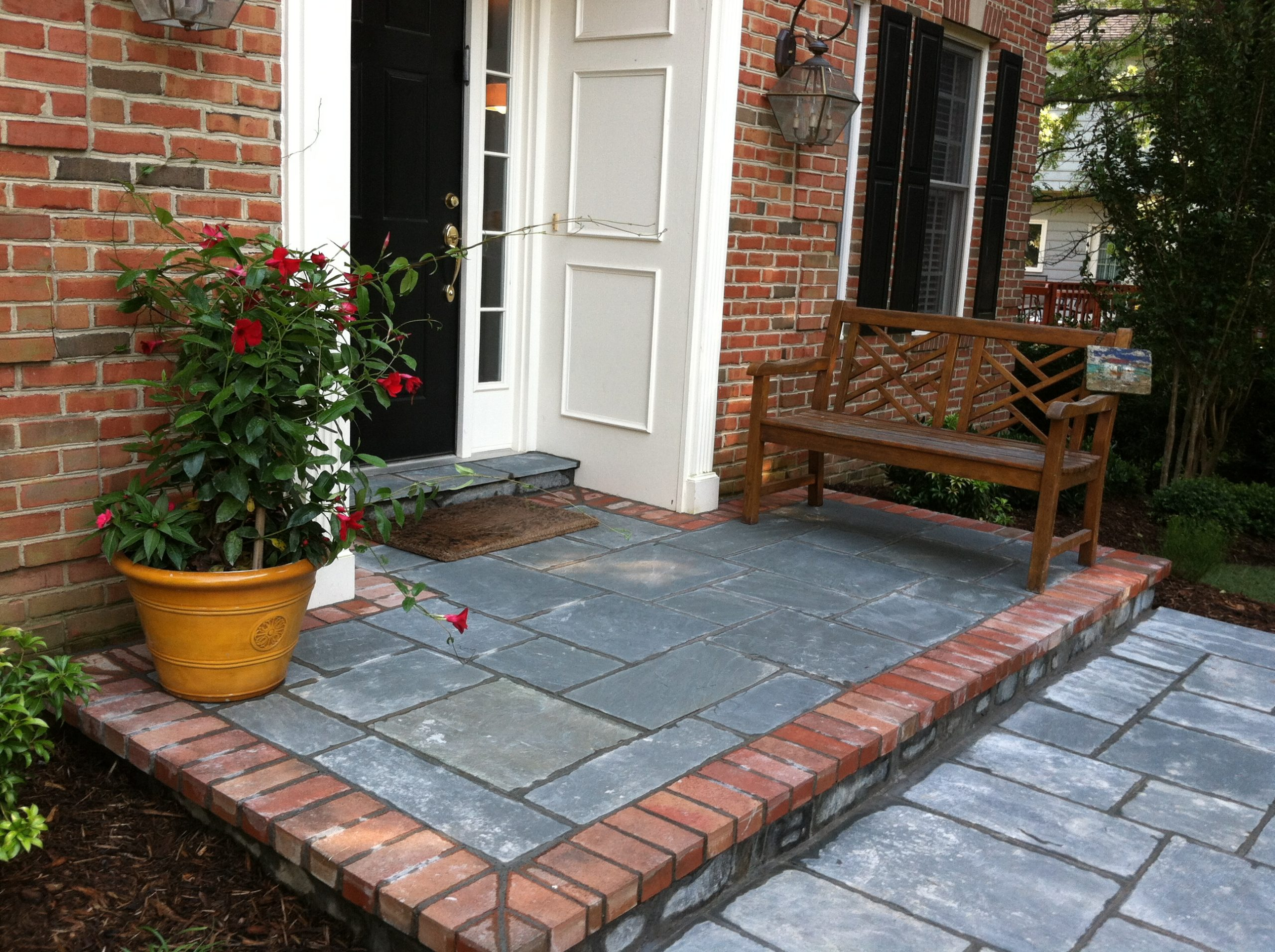 Front Entry in North Potomac, Maryland