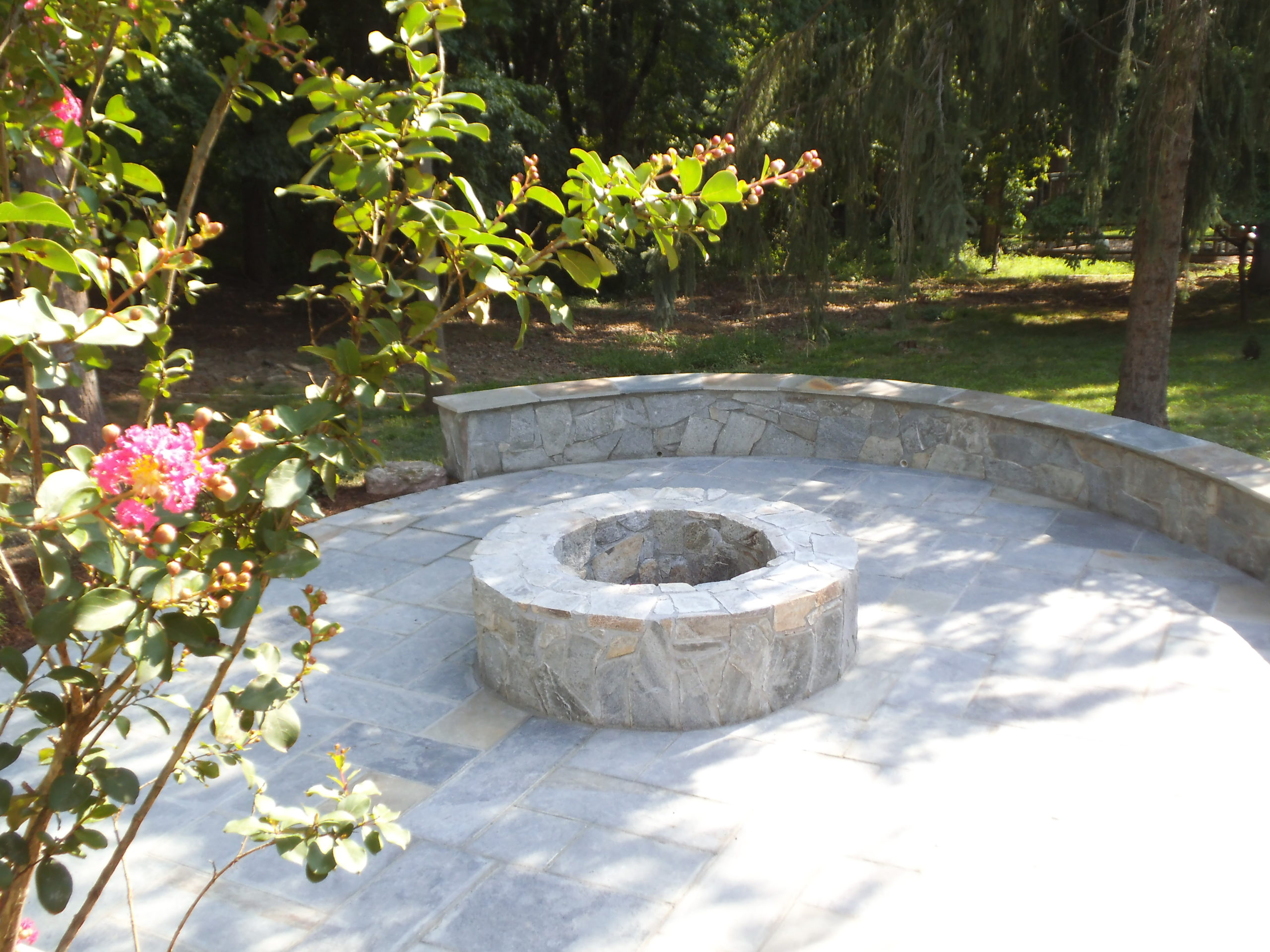 Firepit Patio in Rockville, Maryland