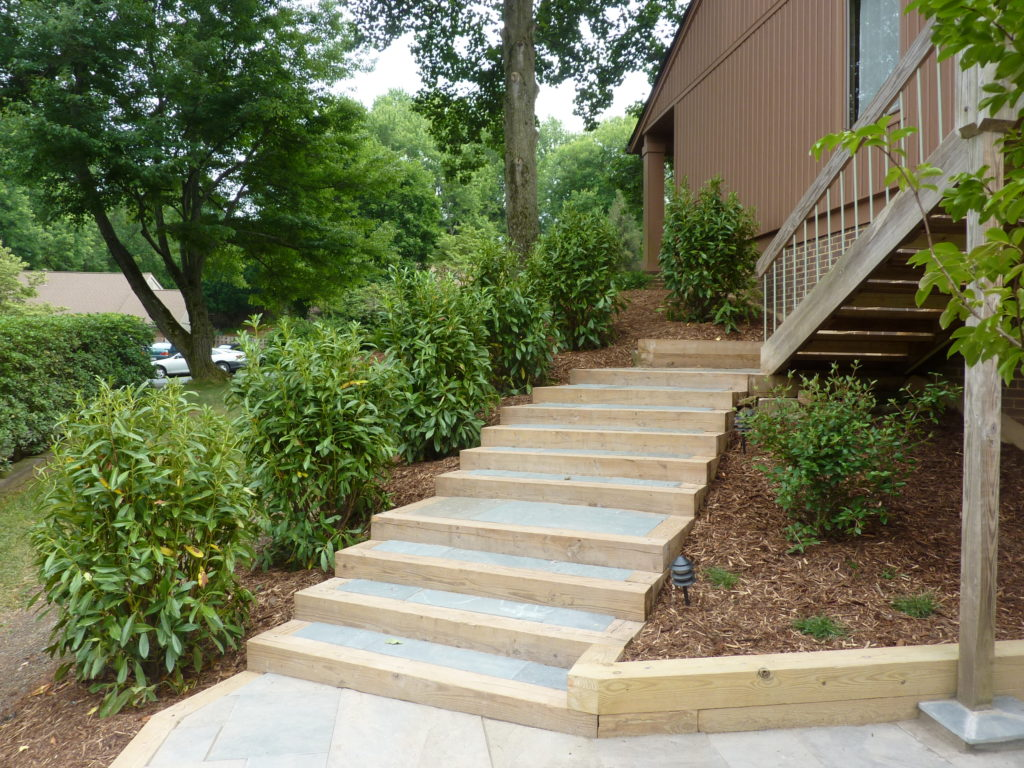 Stone Patio, Walkway & Landscaping Project in North Potomac, MD