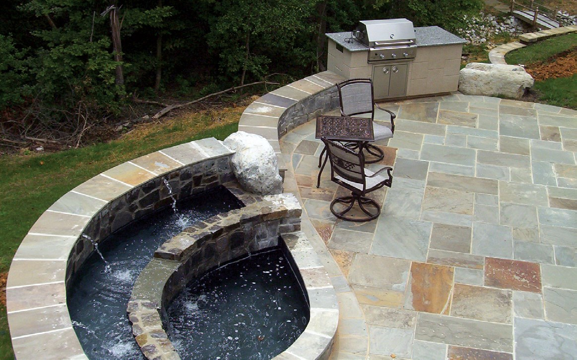 Custom Landscaping and Patios in Chevy Chase, Maryland