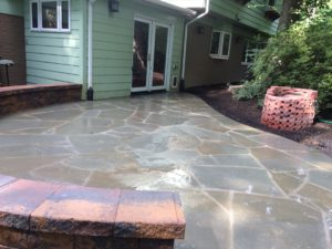 Using Irregular Flagstone For Your Patio Are A Great Way To Soften Up The  Look And Give A More Natural Feel. These Stones Have Been Left In The Shape  They ...