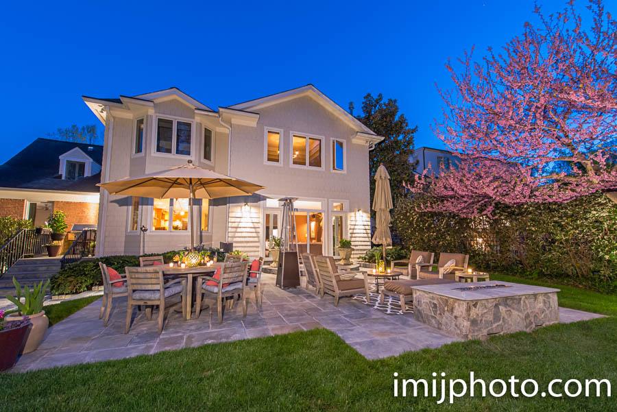 Chevy Chase, MD Backyard Landscape